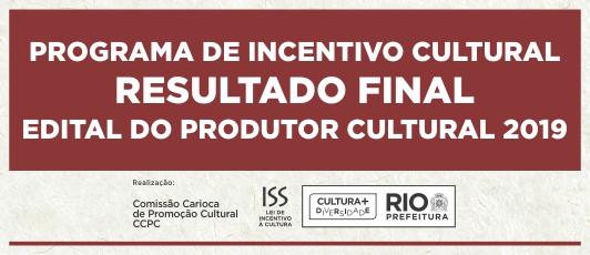 Resultado Final - Produtor Cultural