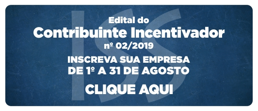 Edital do Contribuinte |Incentivador