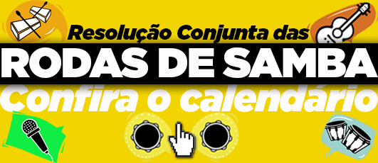 Calendário das Rodas de samba