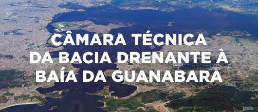 CÂMARA TÉCNICA  DA BACIA DRENANTE À  BAÍA DA GUANABARA
