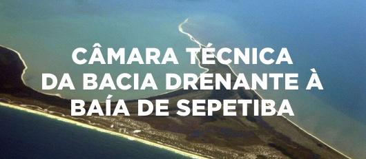 CÂMARA TÉCNICA  DA BACIA DRENANTE À  BAÍA DE SEPETIBA