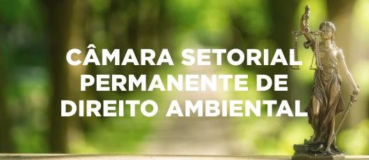 CÂMARA SETORIAL PERMANENTE DE DIREITO AMBIENTAL