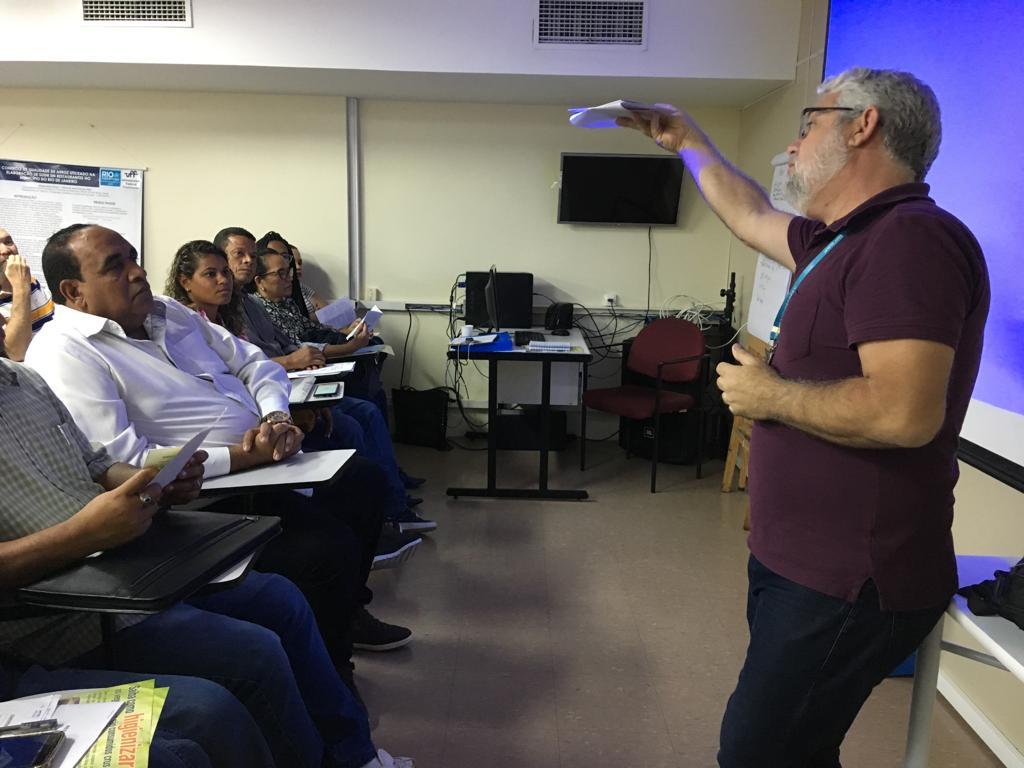 Vigilância Sanitária inicia capacitações de setembro com auditório lotado