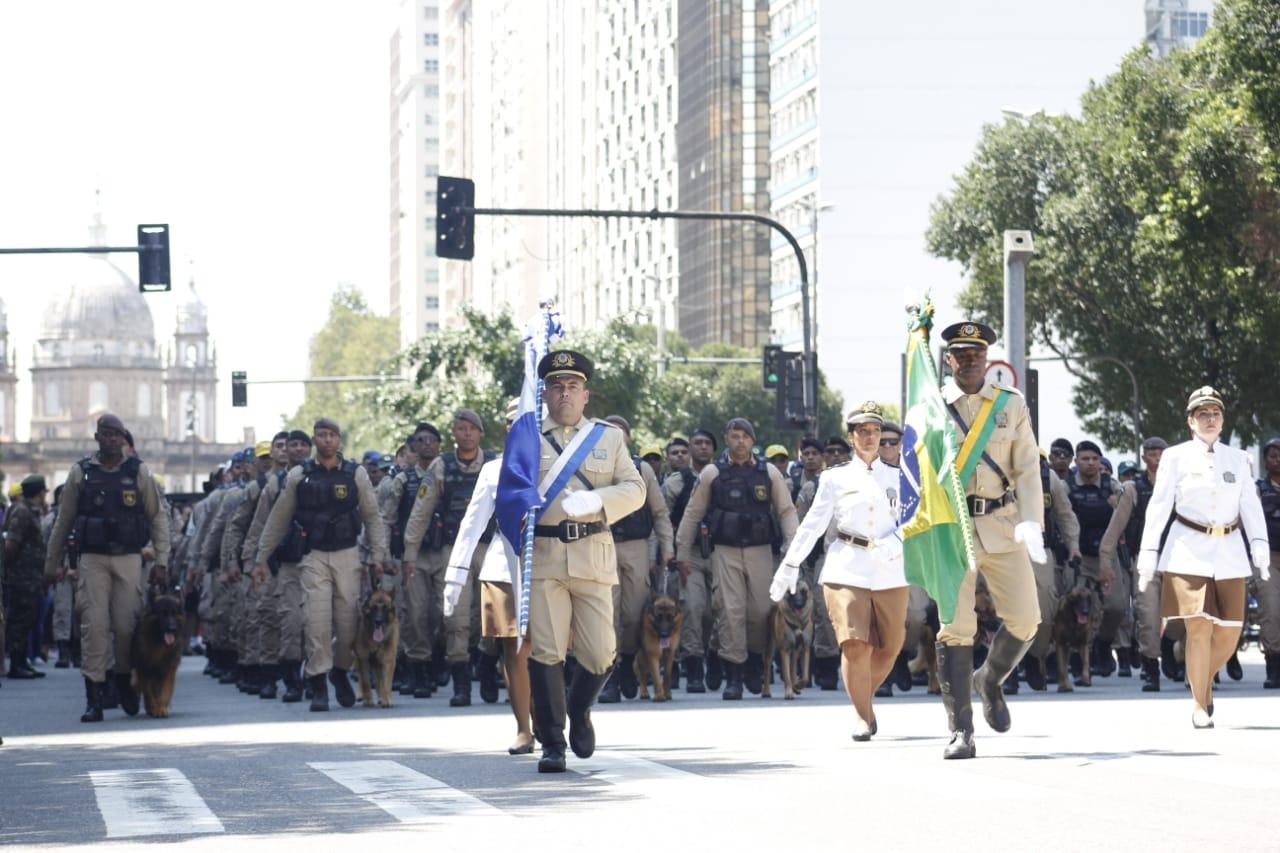 Guarda Municipal participa com 362 guardas do desfile cívico militar de Sete de Setembro