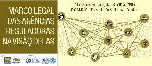 PGM recebe evento sobre agências reguladoras