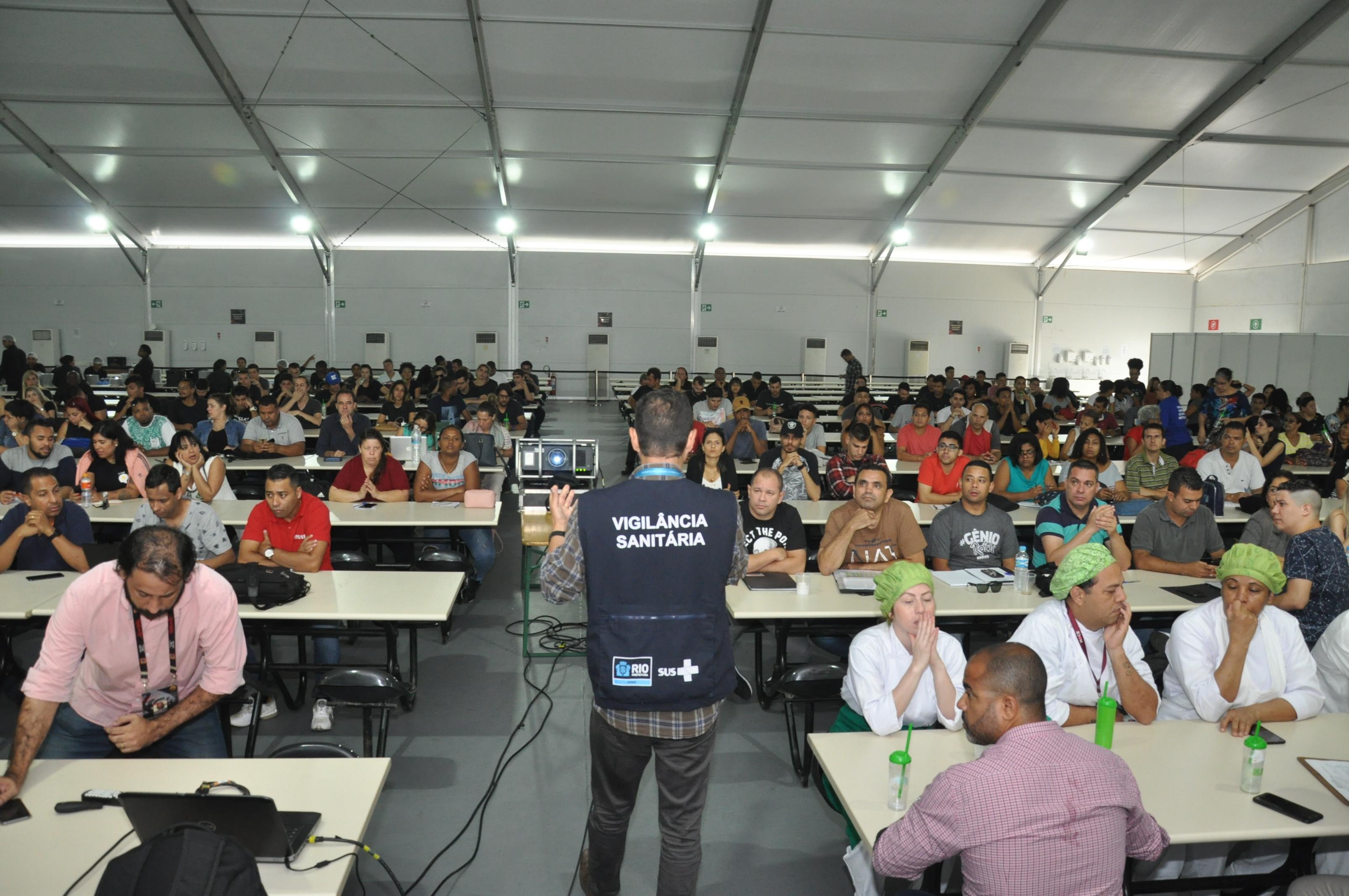 Vigilância Sanitária segue com as ações preventivas para o Rock in Rio