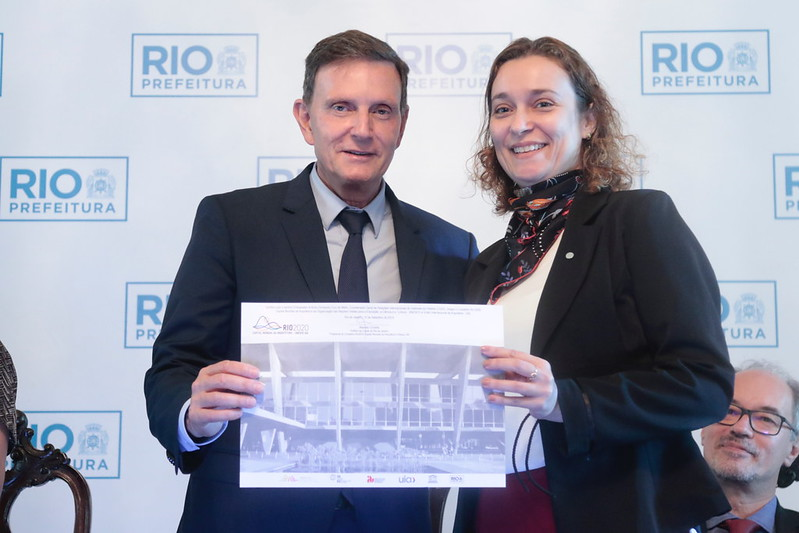 RIO 2020 Counselors World Capital of Architecture take office
