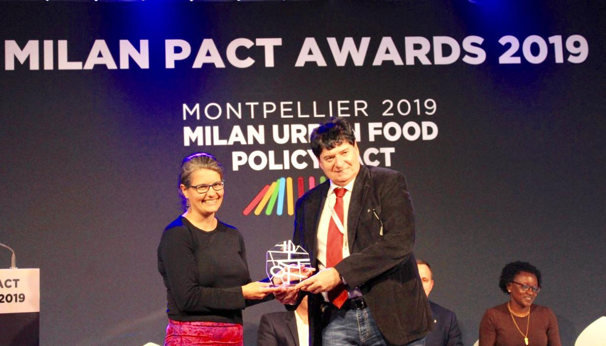 Rio wins Milan Pact award