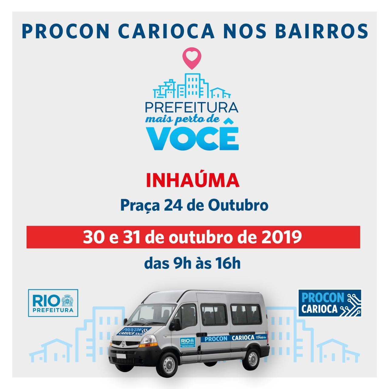 Vigário Geral e Inhaúma recebem Procon Carioca