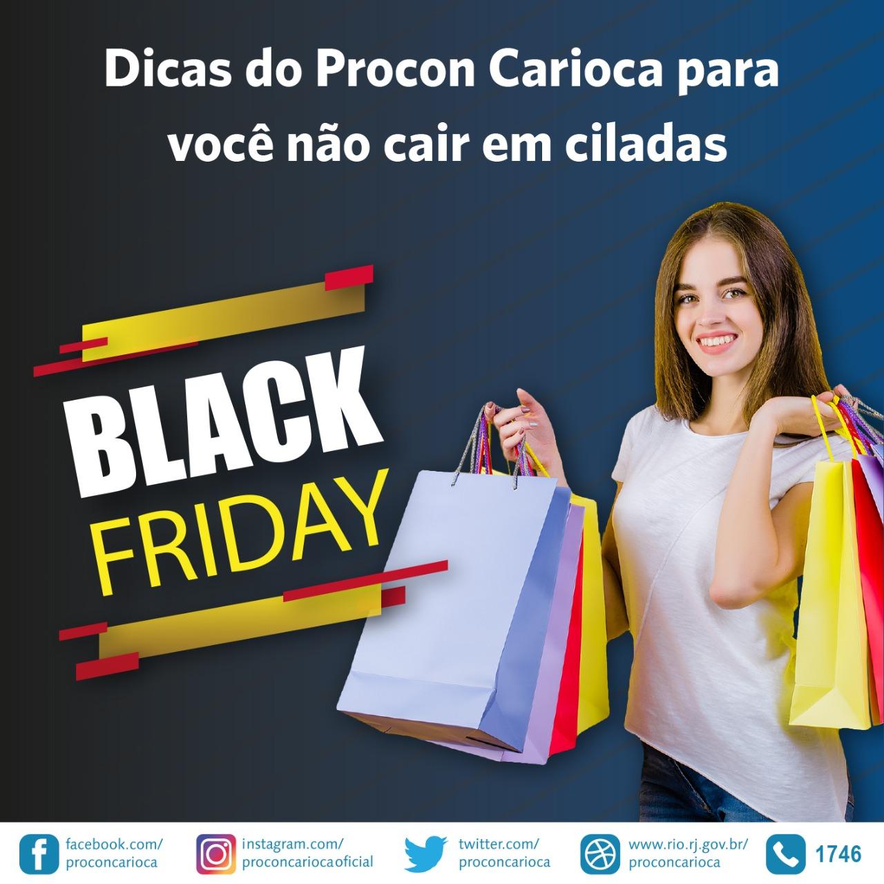 Procon Carioca orienta consumidores sobre a Black Friday