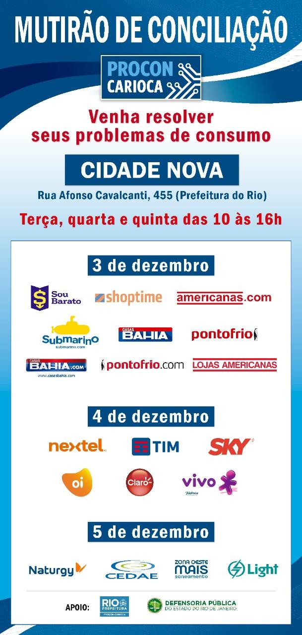 Procon Carioca faz mutirão de conciliação na Prefeitura