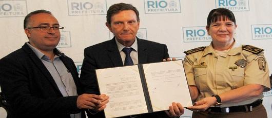 SMDT assina Acordo de Cooperação com a Guarda Municipal
