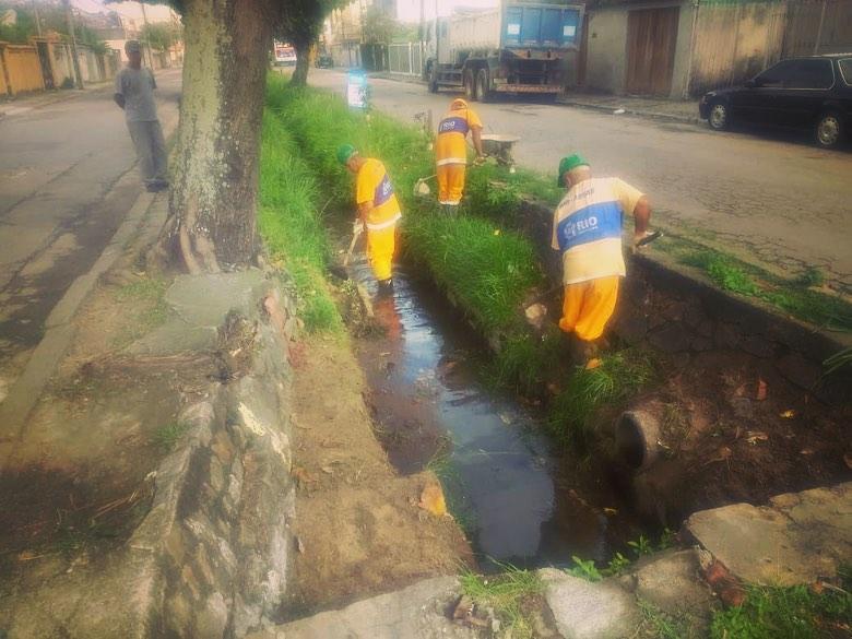 Rio-Águas participa de Cuidar da Cidade na Ilha do Governador