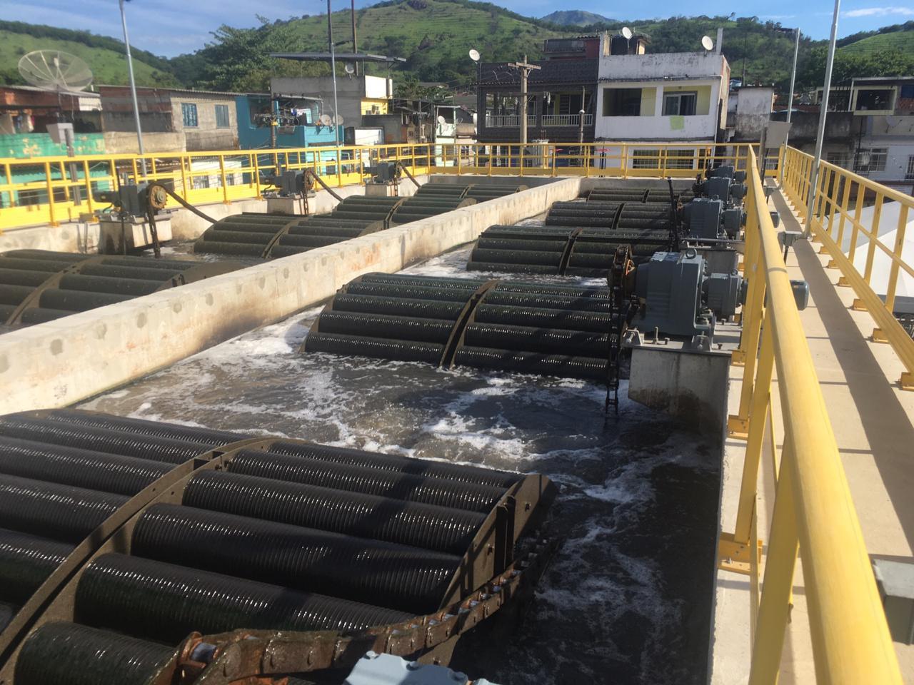 Nova estação de tratamento de esgoto é inaugurada em Vila Kennedy
