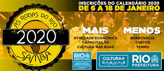 SMC abre inscrições para cadastramento anual de Rodas de Samba