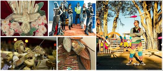 Tema Carnaval marca início das atividades de 2020 no Galpão das Artes Urbanas da Comlurb