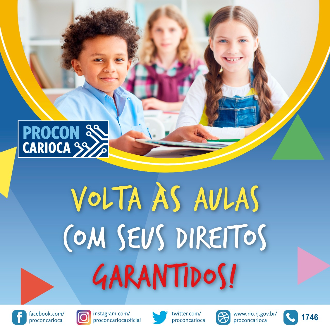 Dicas do Procon Carioca para a volta às aulas