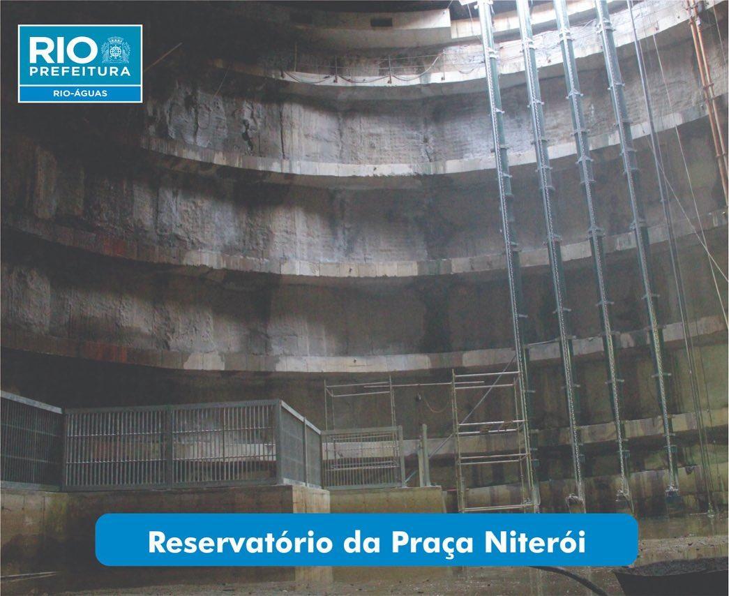 Conheça a manutenção e a operação dos reservatórios da Grande Tijuca