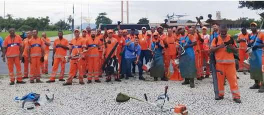 Operação especial da LRS remove cerca de 21 toneladas de resíduos do Aterro do Flamengo