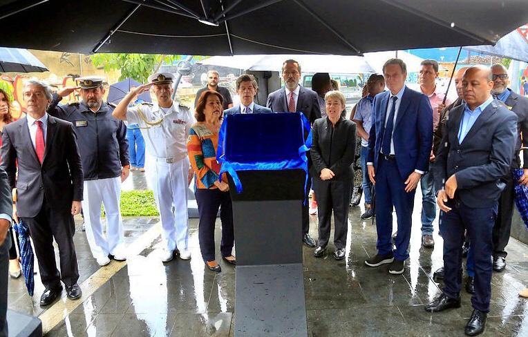 Mayor Inaugurates Circum-Navigation Square in the Port Zone