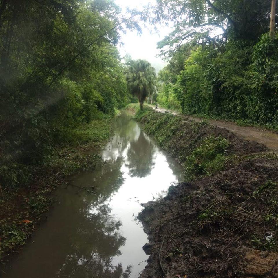 Rio-Águas atua no Rio Piabas, um dos afluentes do Canal Sernambetiba