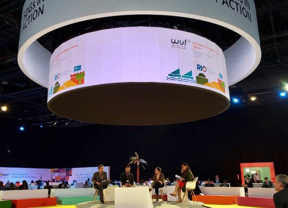 Rio no Forum Mundial Urbano, em Abu Dabhi