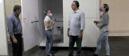 Prefeitura do Rio adequa hospital de campanha às normas de acessibilidade
