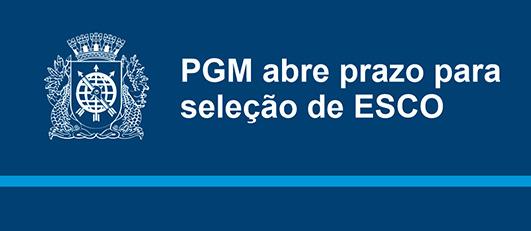 PGM seleciona empresa de conservação de energia
