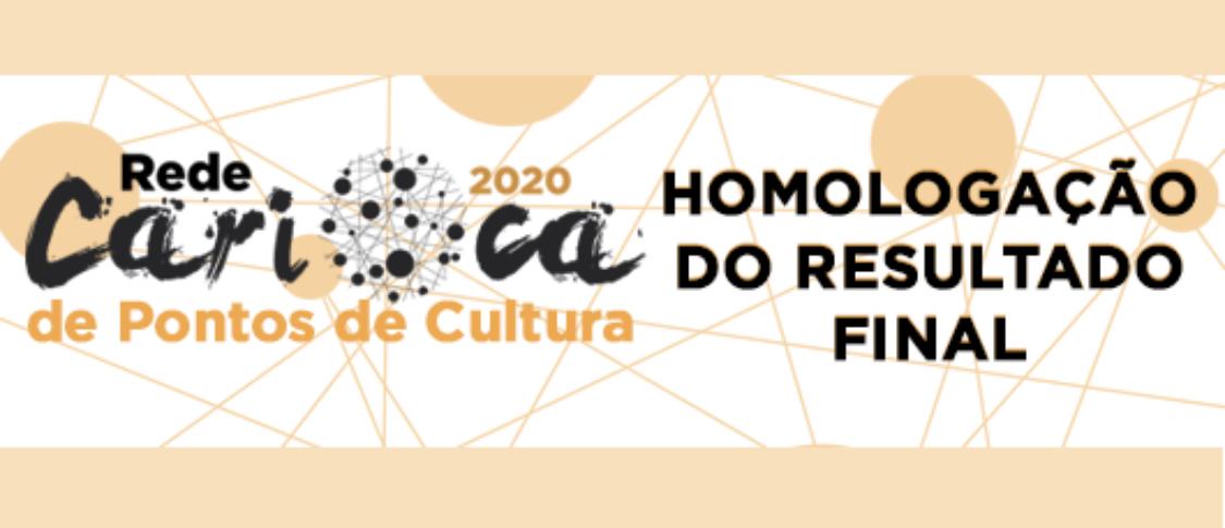 HOMOLOGAÇÃO EDITAL REDE CARIOCA