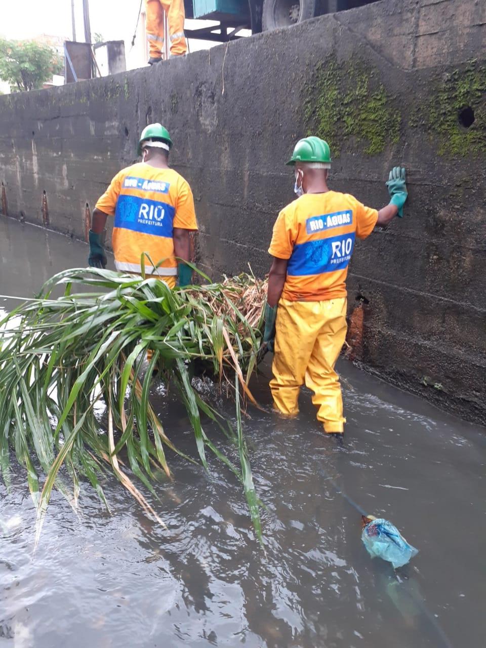 Rio-Águas divulga balanço de serviços essenciais em canais da cidade