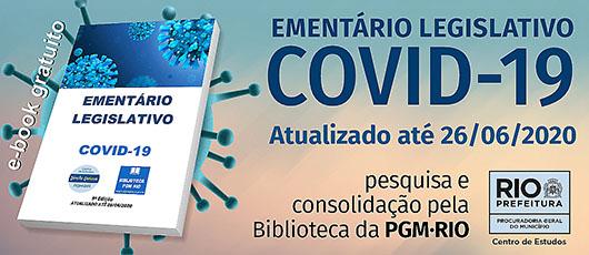 PGM atualiza Ementário Legislativo Covid-19