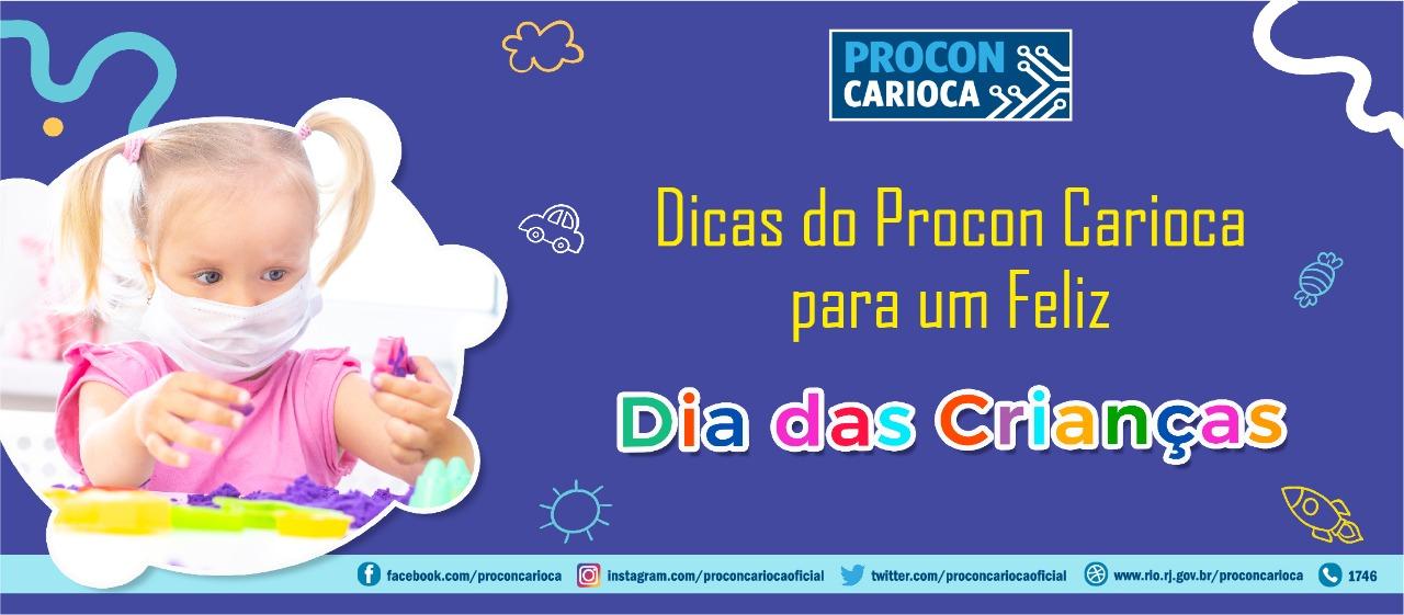 Procon Carioca dá as dicas para um Feliz Dia das Crianças