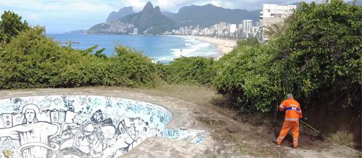 Comlurb fecha operação no Parque Garota de Ipanema com remoção de 11,9t de resíduos e 84 podas