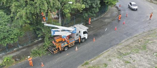Comlurb realizou operação integrada de limpeza no sub-bairro Urucânia, em Santa Cruz