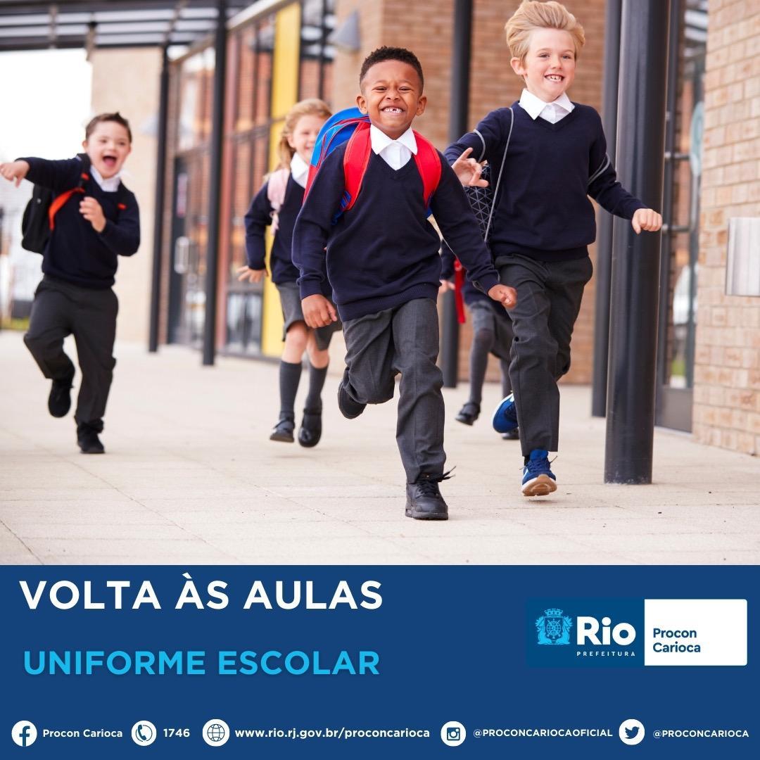 Volta às Aulas: Uniforme Escolar