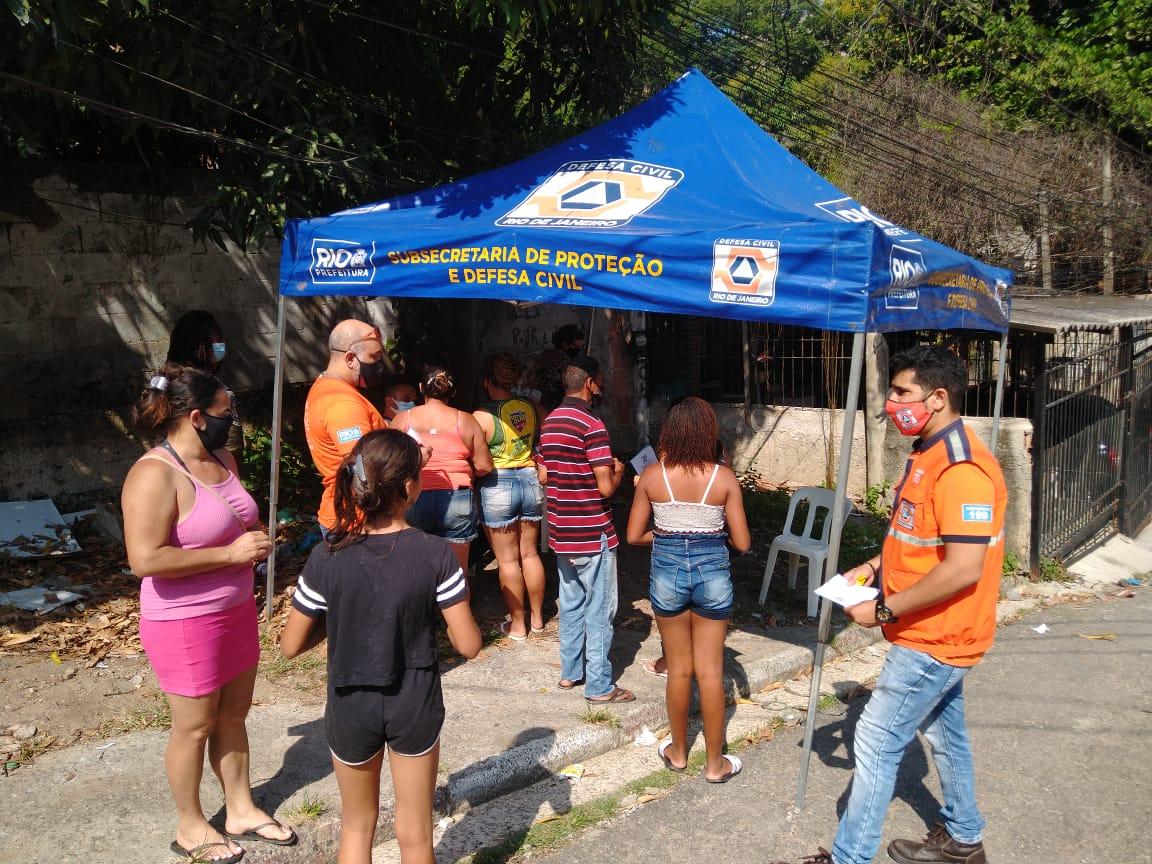 Defesa Civil realiza Exercício Simulado na Comunidade Travessa Antonina
