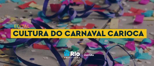 Edital Cultura do Carnaval 2021