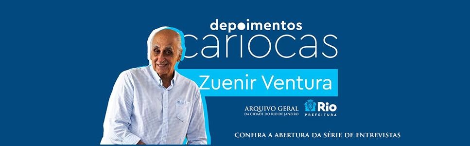 Banner Rotativo Depoimentos Cariocas Zuenir Ventura