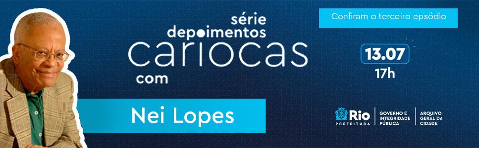 Banner rotativo Nei Lopes