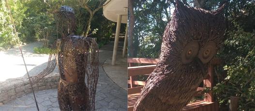 Galpão das Artes da Comlurb expõe obras sustentáveis e celebra Dia de Proteção às Florestas