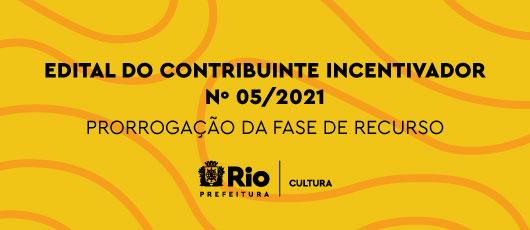 banner rotativo - edital do contribuinte 2021 - prorrogação