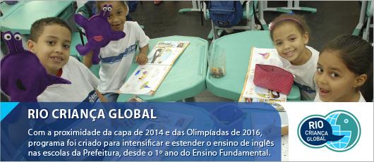 Rio criança global - banner central