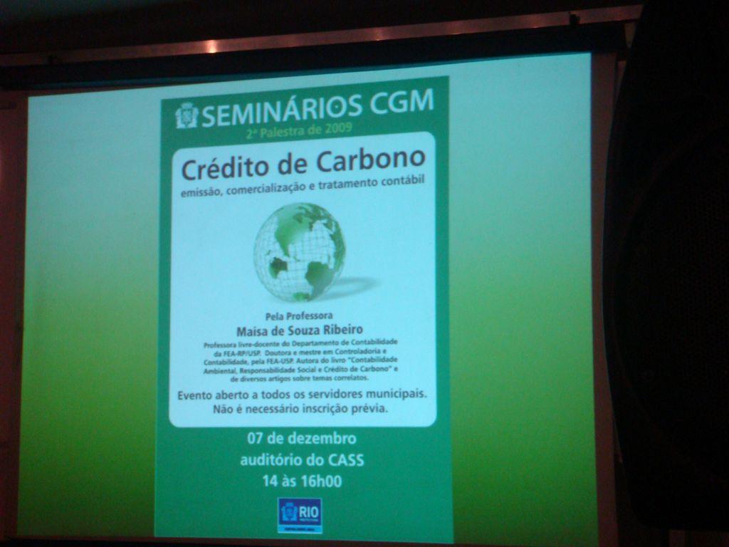 Crédito de Carbono: emissão, comercialização e tratamento contábil