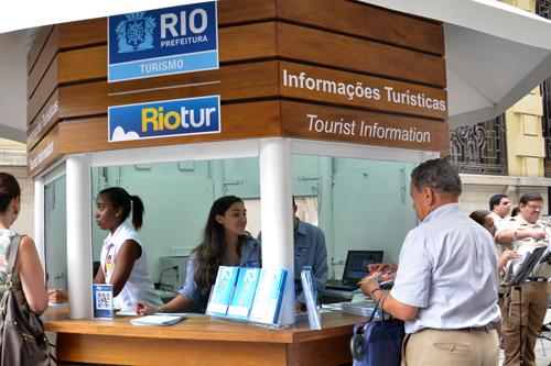 Novo quiosque de informações turísticas no Centro