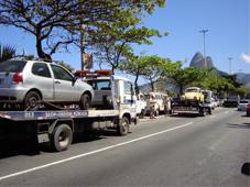 Veículos rebocados