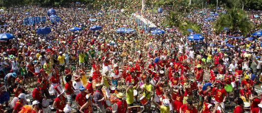 Carnaval de Rua é sucesso também entre turistas