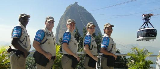 A GM-Rio está presente nos pontos turísticos do Rio para receber os turistas de braços abertos