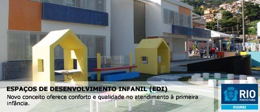 Banner Espaços de Desenvolvimento Infantil (EDI)