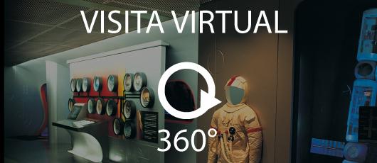 Visita Virtual em 360º pelo Planetário da Gávea