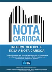 Banner Nota Carioca 2014